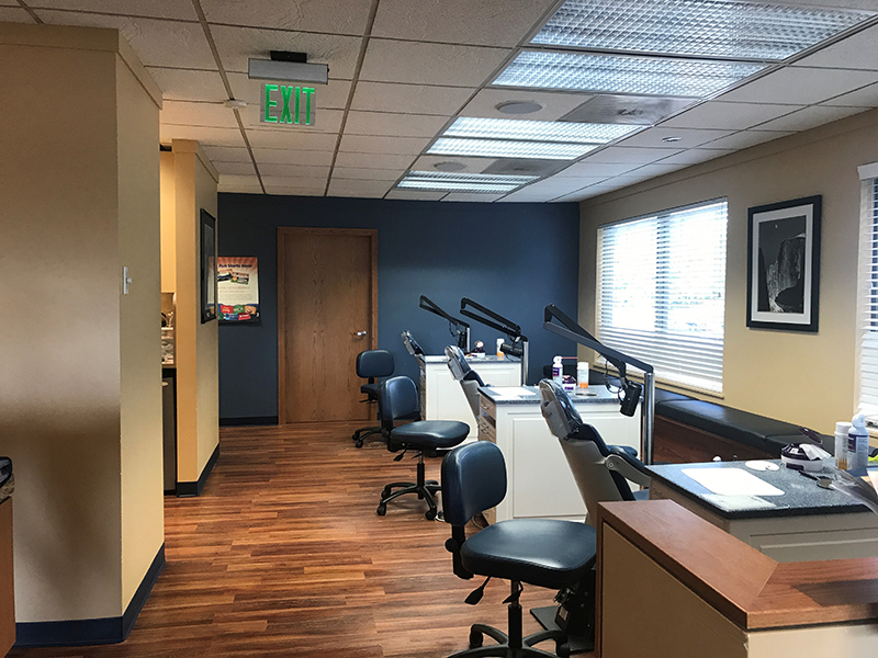 Dr. Chorak's orthodontist chairs in our Fairwood Washington office.